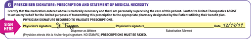 Orenitram referral form prescription information